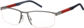 TOMMY HILFIGER TH 1640 Tragrandbrille grau-blau