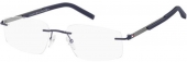 TOMMY HILFIGER TH 1691 randlos-Brille grau-blau