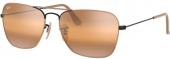 RAY-BAN RB 3136 CARAVAN Sonnenbrille schwarz-hellbraun