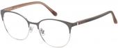 FOSSIL FOS 7041 Brille matt lila-grau
