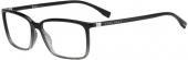 BOSS - Hugo Boss 0679/N Kunststoffbrille dunkelgrau-hellgrau