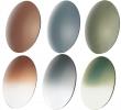 Sonnenbrillengläser Polycarbonat Glaskurve 6 - 0 Dpt