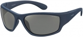Polaroid Sportbrille PLD 7005/S polarisiert matt blau
