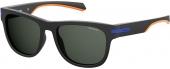 Polaroid PLD 2065/S Sonnenbrille polarized matt schwarz-blau