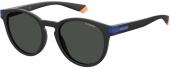 Polaroid PLD 2087/S Sonnenbrille polarized matt schwarz-blau