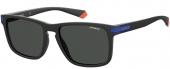 Polaroid PLD 2088/S Sonnenbrille polarized matt schwarz-blau