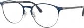 RAY-BAN RB 6375 Brille blau-silbern