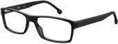 CARRERA 8852 Brille schwarz-rot