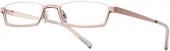 readers eyewear BI 1195 Lesebrille Halbbrille rosa-gold