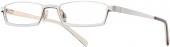 readers eyewear BI 1195 Lesebrille Halbbrille weiß-gold