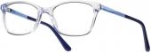 KIDS ONE BI 4284 Kinderbrille transparent-blau