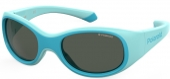 Polaroid PLD 8038/S Kindersonnenbrille Babysonnenbrille polarisiert türkis