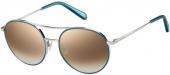 FOSSIL FOS 2100/G/S Sonnenbrille silbern-blau