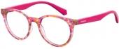 Polaroid Kinderbrille/Jugendbrille D814 Kunststoffbrille pink