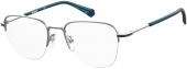Polaroid PLD D386/G Tragrandbrille silber-blau