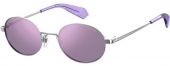 Polaroid PLD 6066/S Sonnenbrille polarized silbern