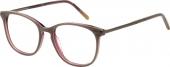 AUGENBLICK Brille SHARI Kunststoff-Titan grau-beere