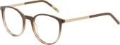 AUGENBLICK Brille SMILLA Kunststoff-Titan blau-braun