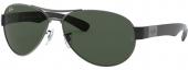 RAY-BAN RB 3509 Sonnenbrille schwarz
