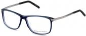 PORSCHE DESIGN P8319 Kunststoffbrille mit Titanium Bügeln dunkelblau