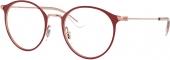 RAY-BAN RB 1053 Jugend-/ Kinderbrille dunkelrot-roségold