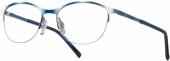 LOOK & FEEL BI 8234 Brille blau-weiß