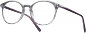 LOOK & FEEL BI 5500 Kunststoffbrille grau violett