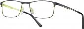 LOOK & FEEL BEFLEX  BI 7018 Flex-Brille grün-schwarz