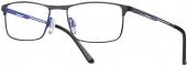 LOOK & FEEL BEFLEX  BI 7018 Flex-Brille blau-schwarz