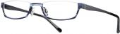 readers eyewear BI 1175 Halbbrille Lesebrille blau