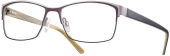 LOOK & FEEL BI 8160 Brille braun holzoptik