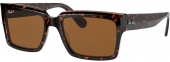 RAY-BAN RB 2191 INVERNESS Sonnenbrille polarisiert havanna