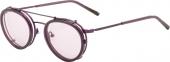 AUGENBLICK Brille YVONNE Titan mit Clip lila