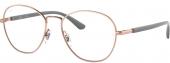 RAY-BAN RB 6470 Brille roségold-grau
