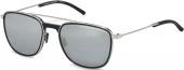 PORSCHE DESIGN P8590 Sonnenbrille schwarz-silbern