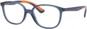 RAY-BAN RB 1598 Jugend Kunststoffbrille blau