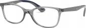RAY-BAN RB 1586 Jugend Kunststoffbrille grau