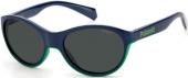 Polaroid PLD 8042/S Kindersonnenbrille Sportbrille polarisiert blau-grün