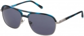 FOSSIL FOS 2102/G/S Sonnenbrille silbern-blau