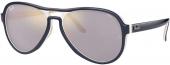 RAY-BAN RB 4355 VAGABOND Sonnenbrille blau creme