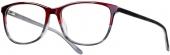 LOOK & FEEL BI 5492 Kunststoffbrille rot-grau