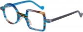 XP by vonBogen 1429 Brille rund-eckig bunt