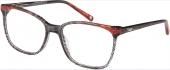 XP by vonBogen 1391 Brille schwarz orange transparent