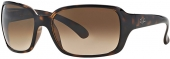 RAY-BAN RB 4068 Kunststoff-Sonnenbrille, braun