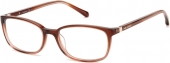 FOSSIL FOS 7114 Kunststoffbrille braun