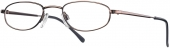 START UP basics BI 1129 Lesebrille Halbbrille braun
