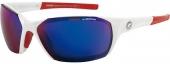 CARRERA C-2T Sonnenbrille, weiß mit Wechselgläsern